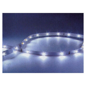 Tira 30cm. Flexible 12 led amarillo  SLP 12-12Y