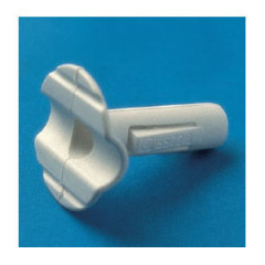 16557201 5572/2////15 Protector con presacable para port. Nylon66 Blanco