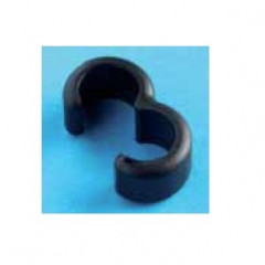 16564301 5643/9////25 Guia cable Nylon66 Negro