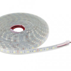 LF0B0660 Tira led Flexible 5m SMD5050-60led/m IP68 24V 14,4W/m-72W RGB