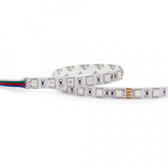 LFD524063 Tira led Flexible 5m SMD5050-60led/m IP62 24V 14,4W/m-72W RGB