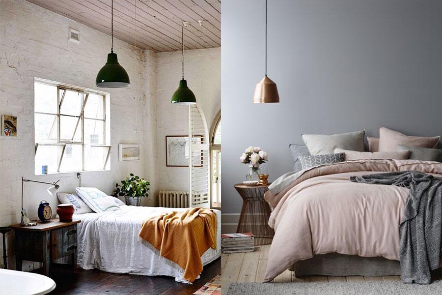 C mo elegir una l mpara de techo para el dormitorio i - Iluminacion habitacion matrimonio ...