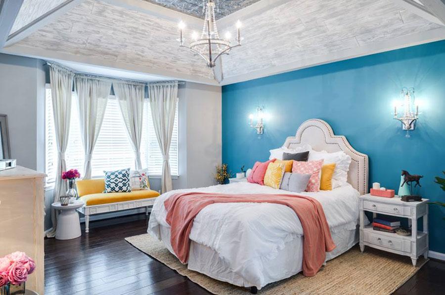C mo elegir una l mpara de techo para el dormitorio ii krealo - Lamparas de techo habitacion ...