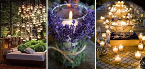 Cómo iluminar con velas