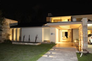 Cómo iluminar la entrada de una casa