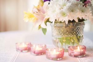 Cómo iluminar un centro de mesa