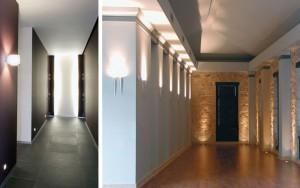 Cómo iluminar un pasillo interior