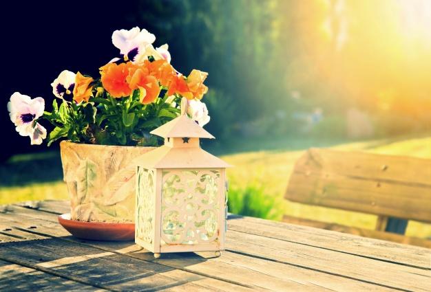 Ideas para iluminar tu terraza