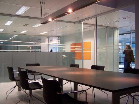 Iluminaci n de oficinas - Lamparas de oficina techo ...