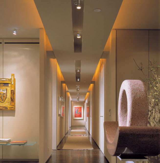 Iluminaci n de pasillos c mo iluminar correctamente - Iluminacion para cuadros ...