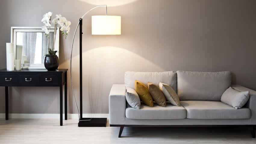 Lámparas de pie, la iluminación desconocida