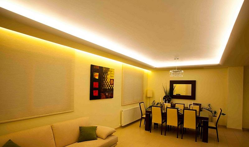 Qu iluminaci n led usar en cada habitaci n de tu hogar - Habitacion iluminacion ...