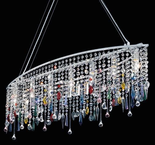 Cristales para lámparas: Viste de primavera tu hogar