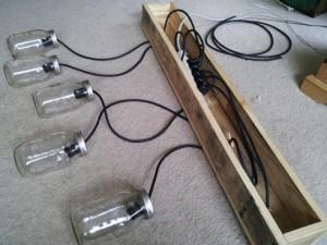 fabricar una lámpara de estilo industrial