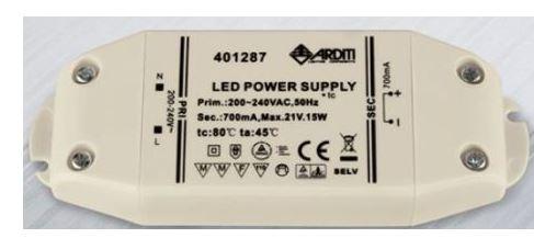 fuentes de alimentaicon led cc corriente constante