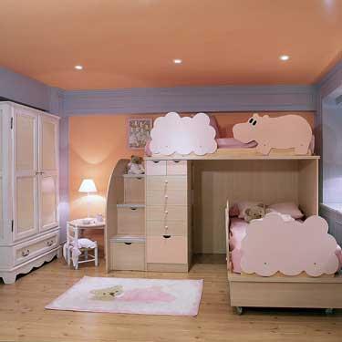 Iluminar habitaciones infantiles for Muebles dormitorio ninos
