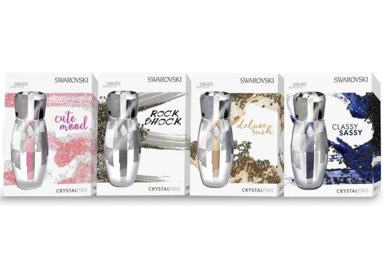 Swarovski crystal pixie decoracion de u as con for Pedreria swarovski para unas
