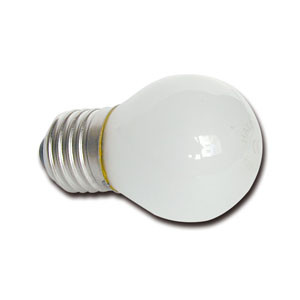 E242140 Ball lamp E27 120V 40W frosted
