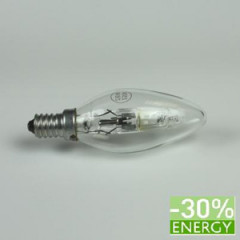 E230028 Candle bulb E14 230V 28W Energy Saver