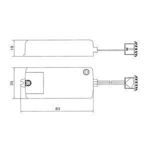 Relais /électronique sensoriel SHE-B-250/