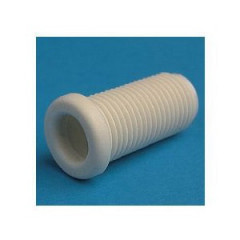 16547501 5475/3/07/16 Tubulure filetée tête ronde Nylon 66-RV blanc