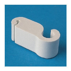 16540701 5407/1////16 Guide-câble Nylon66-RV blanc