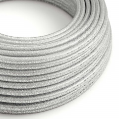 CAXZ3RL02 Fil électric rond  3G0,75 Textile Rayonne Plata solide Glitter