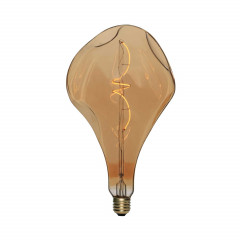 CBDL700211.00L Ampoule Led Dimmable Bumped PearA165 E27 5W 2000K  250Lm Golden