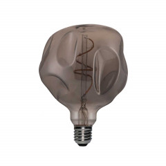 CBDL700208.00A Ampoule Led Dimmable Bumped Globe G125 E27 5W 2000K  250Lm Smoky