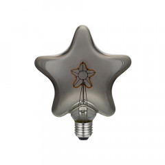 CBDL700259 Ampoule Led Dimmable Star E27 3W 2000K 90Lm Grey Smoky