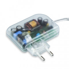 G503712 Alimentation ALED CC 12W DC 700MA SP fiche transparent