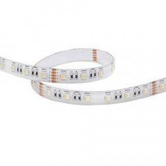 LFDW524192 LED bande flexible 5m SMD5050-60led  IP62 24V 19,2W /m 2700K 96W RGB